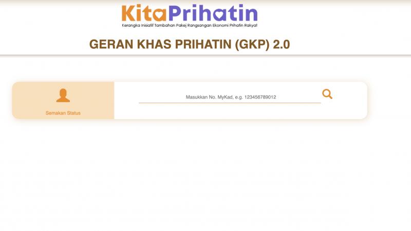 SEMAKAN GKP 2021: GKP PERMAI RM1000